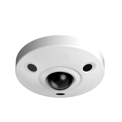 12M Ultra HD Vandal-proof IR Network Fisheye Camera